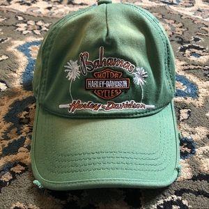 Harley-Davidson Green Bahamas Baseball Hat OS
